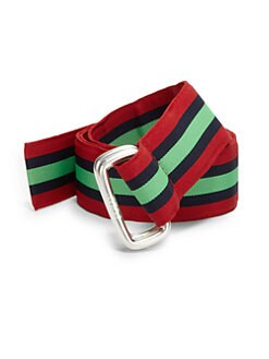 Polo Ralph Lauren - Stripe Multicolor Ribbon Belt