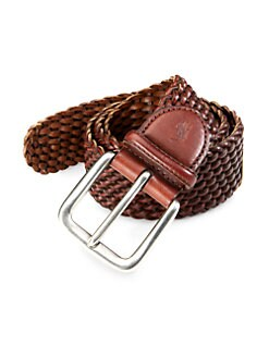 Polo Ralph Lauren - Braided Leather Belt