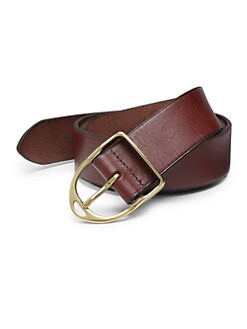 Ralph Lauren - Leather Wilton Belt