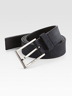 BOSS Black - Claudo Suede Belt