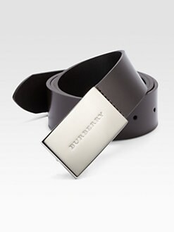 Burberry - Leather Sloane Belt