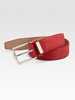 BOSS Black - Stefonio Suede Belt