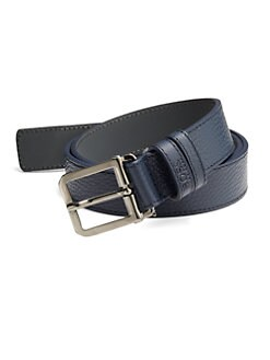 BOSS HUGO BOSS - Crosby Leather Dress Belt