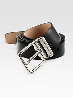 Dolce & Gabbana - Logo Leather Belt