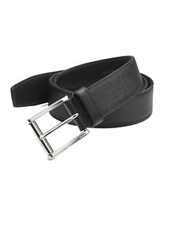 Prada - Logo Leather Belt