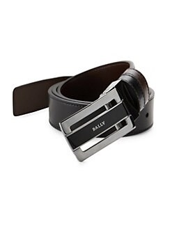 Bally - Reversible Plaque Buckle Belt