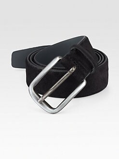 BOSS Black - Caros-S Suede Belt