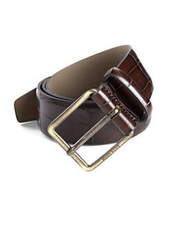 BOSS HUGO BOSS - Coccoryo Emobossed Leather Belt