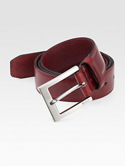 BOSS Black - Curd Leather Belt