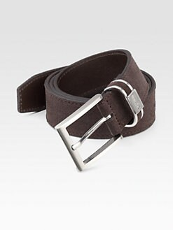 BOSS Black - Settimo Suede Belt