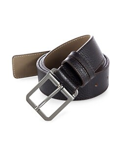 BOSS HUGO BOSS - Crosby Leather Belt