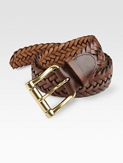 Ralph Lauren - Braided Leather Belt