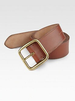 Ralph Lauren - Burnished Leather Belt