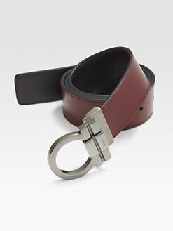 Salvatore Ferragamo - Reversible Gancini Belt