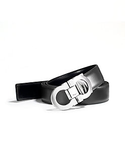 Salvatore Ferragamo - Reversible Logo Belt