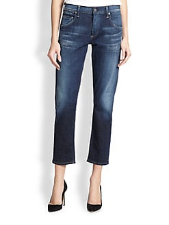 Citizens of Humanity - Emerson Cropped Slim-Fit Boyfriend Jeans