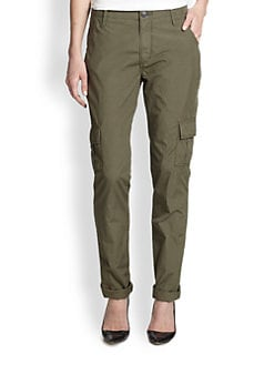 True Religion - Celina Stretch Cotton Cargo Pants