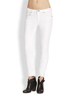 rag & bone/JEAN - Repair Skinny Ankle Jeans