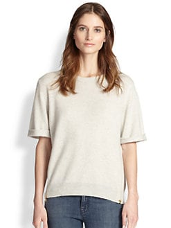 J Brand - Audrey Cashmere Side-Zip Sweater