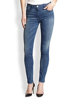 3x1 - High-Rise Channel Skinny Jeans