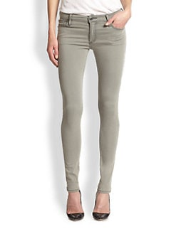 True Religion - Halle Mid-Rise Super Skinny Jeans