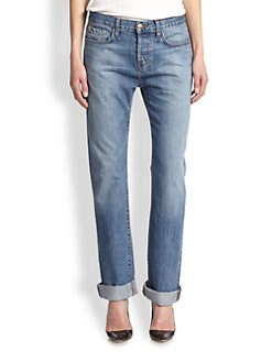 J Brand - Johnny Boyfriend Jeans