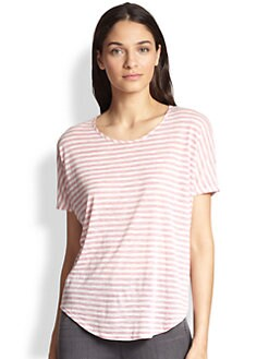 J Brand - Walker Striped Tee
