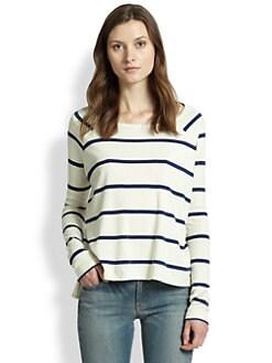 rag & bone/JEAN - Miller Striped Pima Cotton Top