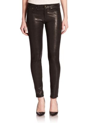 The Leather Skinny Pants