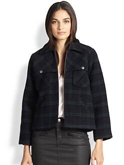 Current/Elliott - Plaid Jacket