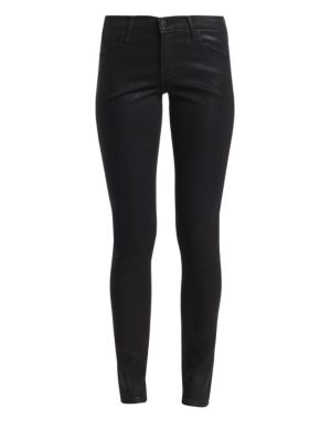 620 Mid-Rise Coated Skinny Jeans