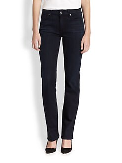 7 For All Mankind - Kimmie Straight-Leg Jeans