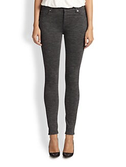 7 For All Mankind - Stretch Knit Denim Leggings