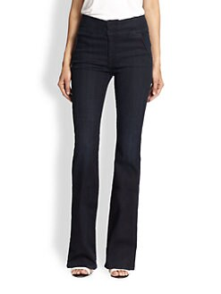 7 For All Mankind - High-Rise Flared Jeans