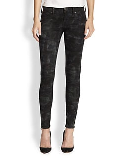 True Religion - Casey Camouflage-Print Skinny Jeans