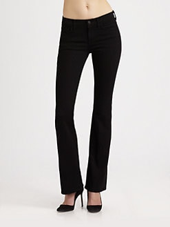 7 For All Mankind - High-Waist Bootcut Jeans