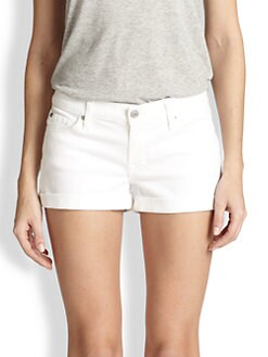 7 For All Mankind - Roll-Up Denim Shorts