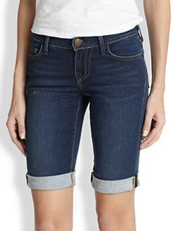 True Religion - Savannah Stretch Denim Shorts