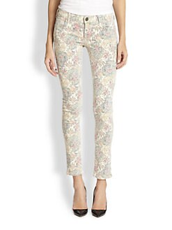 True Religion - Chrissy Super Skinny Printed Jeans