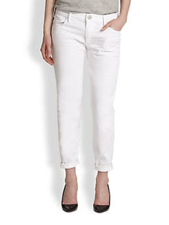 True Religion - Audrey Slim Relaxed-Fit Ankle Jeans