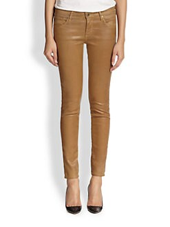 AG Adriano Goldschmied - Leatherette Coated Denim Leggings