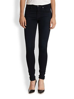 AG Adriano Goldschmied - Farrah High-Rise Skinny Jeans
