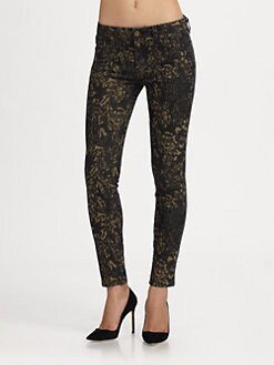 Genetic Denim - Raquel Printed Skinny Jeans