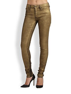 Genetic Denim - Shya Metallic Skinny Jeans
