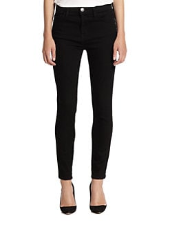 Current/Elliott - The High-Waist Stiletto Skinny Jeans