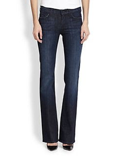 7 For All Mankind - Mid-Rise Bootcut Jeans