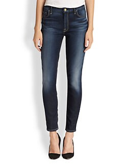 7 For All Mankind - Riche High-Rise Skinny Ankle Jeans
