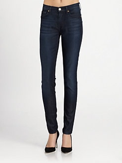 7 For All Mankind - High-Rise Skinny Jeans