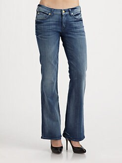 7 For All Mankind - A-Pocket Bootcut Jeans
