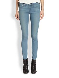 rag & bone/JEAN - High-Rise Skinny Jeans